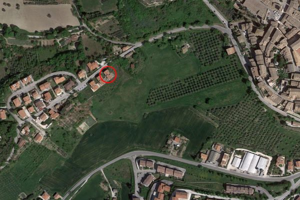 Immagine n0 - Planimetria - Vista aerea - Asta 8641