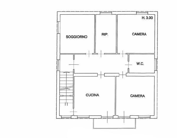 Immagine n0 - Planimetria - Piano primo - Asta 866
