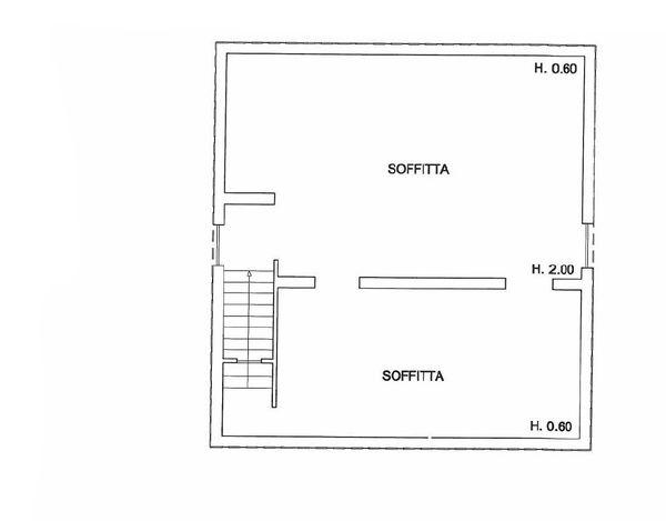 Immagine n3 - Planimetria - Piano secondo - Asta 866