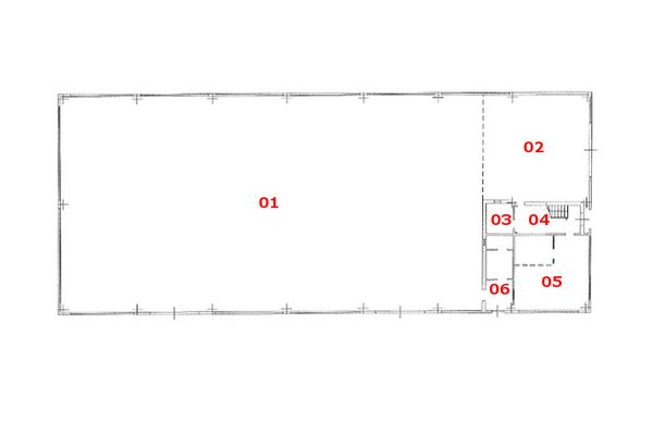 Immagine n0 - Planimetry - Ground floor - Asta 8663
