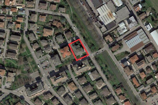 Immagine n1 - Planimetria - Vista aerea - Asta 8678