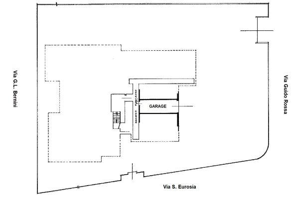Immagine n0 - Planimetria - Piano seminterrato - Asta 8678