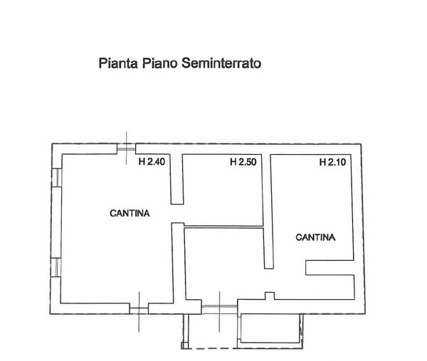 Immagine n0 - Planimetry - Basement - Asta 868