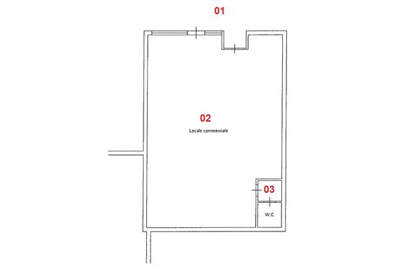 Immagine n1 - Planimetria - Piano terra - Asta 8680