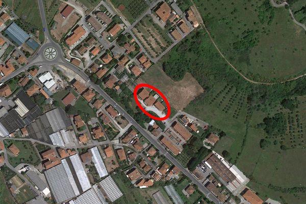 Immagine n2 - Planimetria - Vista aerea - Asta 8688