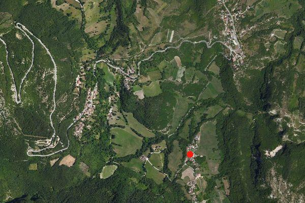 Immagine n0 - Planimetria - Vista aerea - Asta 872