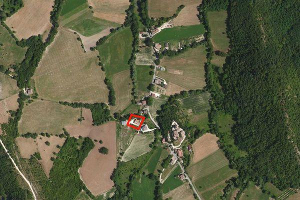 Immagine n1 - Planimetria - Vista aerea - Asta 874