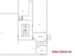 Bilocale al piano primo con garage (sub 100)
