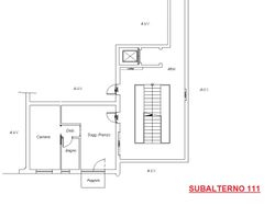 Bilocale al piano secondo con garage (sub 111)