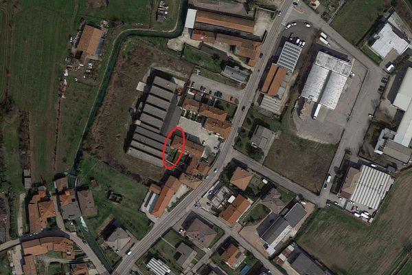 Immagine n1 - Planimetria - Vista aerea - Asta 8745