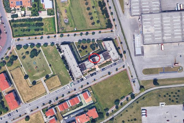 Immagine n2 - Planimetria - Vista aerea - Asta 8747