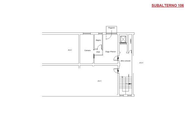 Immagine n0 - Planimetria - Piano secondo - Asta 8747