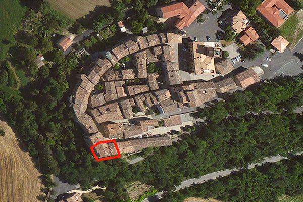 Immagine n0 - Planimetria - Vista aerea - Asta 876