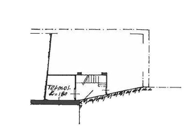 Immagine n3 - Planimetria - Piano sottostrada - Asta 876