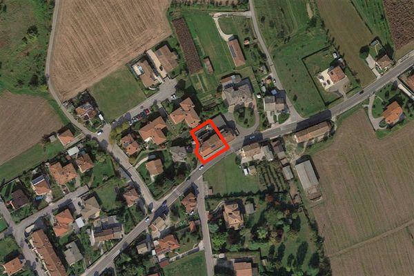 Immagine n0 - Planimetria - Vista aerea - Asta 8774