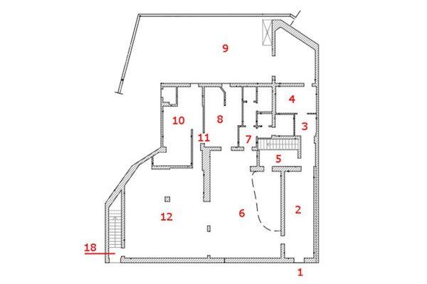 Immagine n0 - Planimetria - Piano terra - Asta 8774