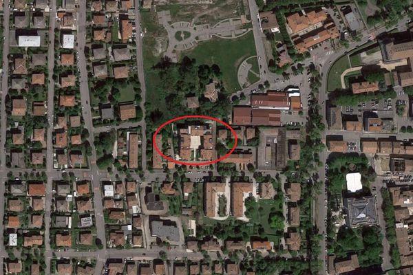Immagine n0 - Planimetria - Vista aerea - Asta 8775