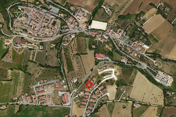 Immagine n1 - Planimetria - Vista aerea - Asta 878