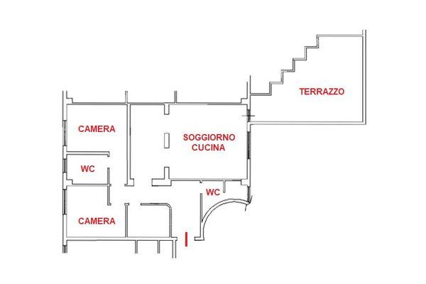 Immagine n1 - Planimetria - Piano primo - Asta 8781