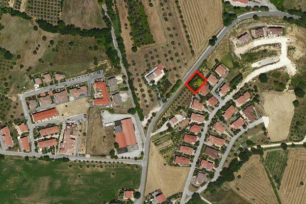Immagine n0 - Planimetria - Vista aerea - Asta 879