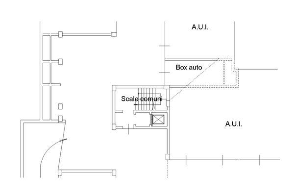 Immagine n1 - Planimetria - Piano primo interrato - Asta 8798