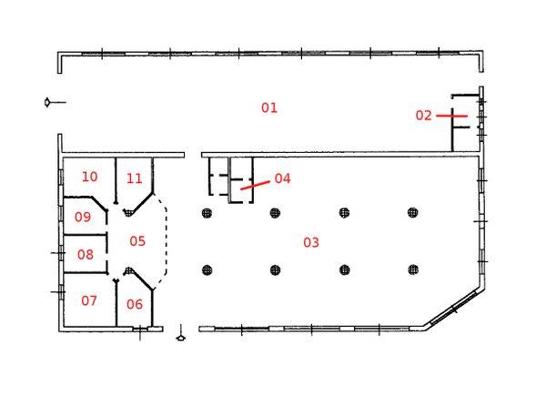 Immagine n10 - Planimetria - Piano terra - Asta 880