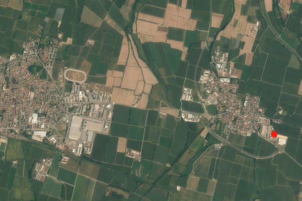 Immagine n0 - Planimetria - Vista aerea - Asta 881