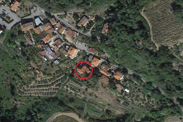 Immagine n0 - Planimetria - Vista aerea - Asta 8812
