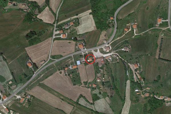 Immagine n0 - Planimetria - Vista aerea - Asta 8823