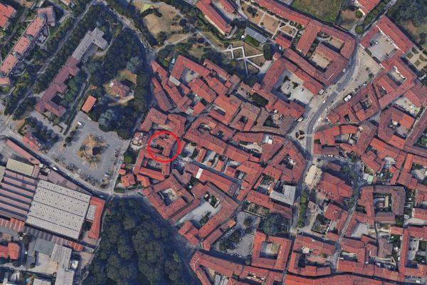 Immagine n0 - Planimetria - Vista aerea - Asta 8835