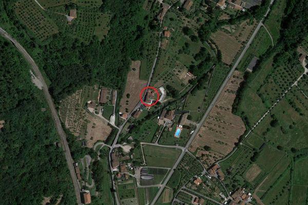 Immagine n0 - Planimetria - Vista aerea - Asta 8857