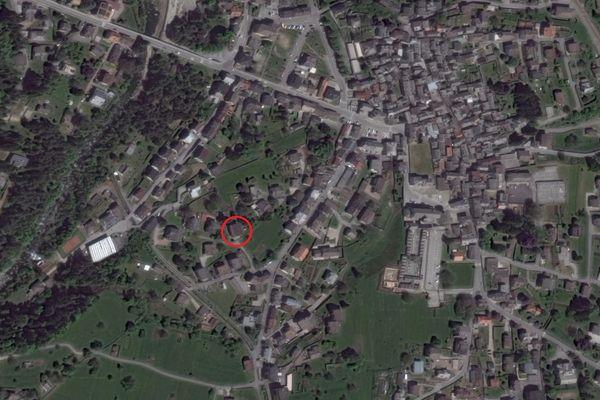 Immagine n0 - Planimetria - Vista aerea - Asta 8865