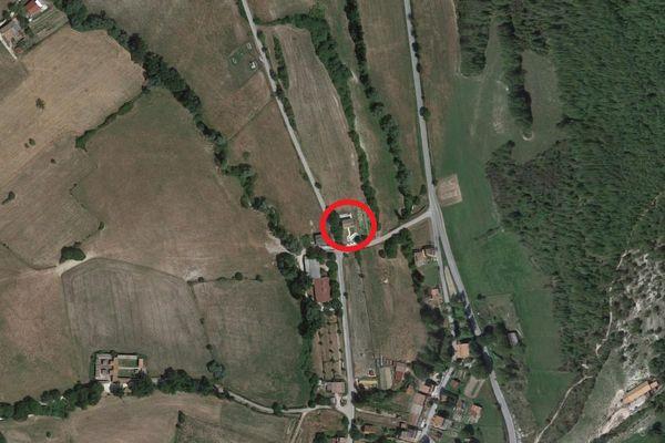 Immagine n0 - Planimetria - Vista aerea - Asta 8870