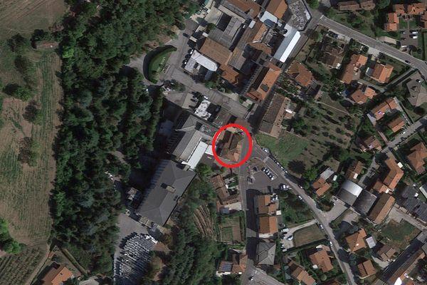 Immagine n0 - Planimetria - Vista aerea - Asta 8871