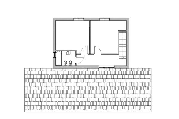 Immagine n2 - Planimetry - First floor - Asta 8883