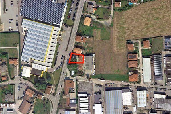 Immagine n1 - Planimetria - Vista aerea - Asta 8911
