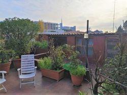 Appartamento con ampio terrazzo e autorimessa