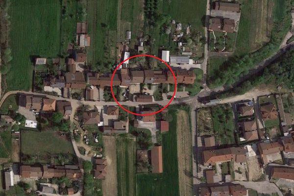 Immagine n0 - Planimetria - Vista aerea - Asta 8923