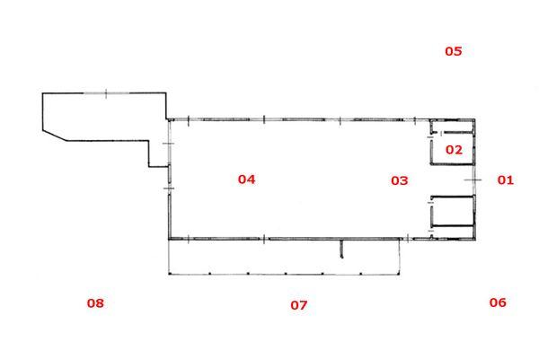 Immagine n1 - Planimetria - Piano terra - Asta 8925