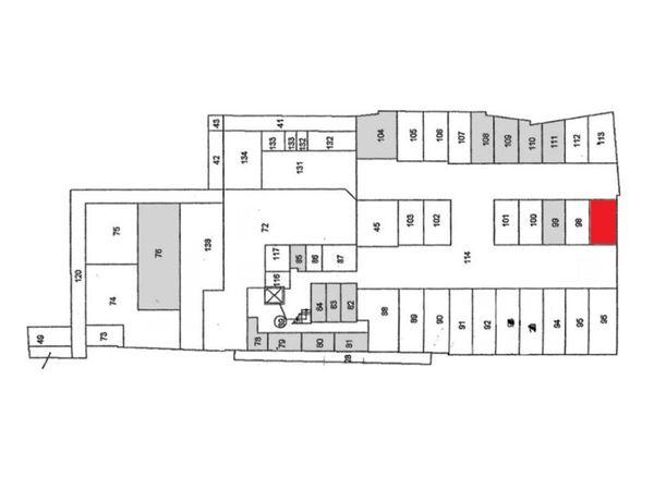 Immagine n1 - Planimetria - Piano seminterrato - Asta 894