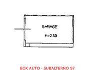 Immagine n0 - Box auto seminterrato (sub 97) - Asta 894