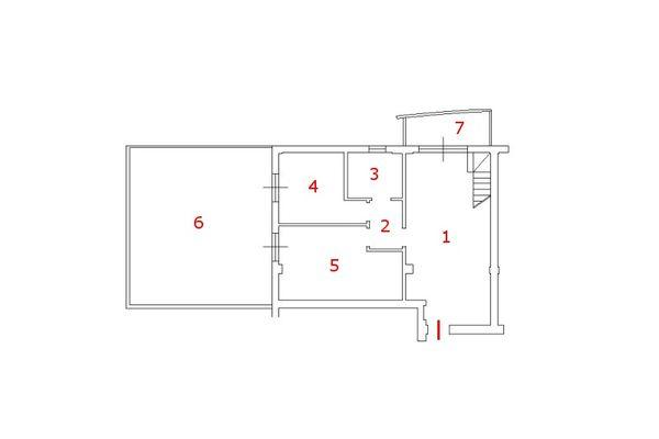 Immagine n0 - Planimetry - Second floor - Asta 8945