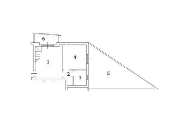 Immagine n0 - Planimetry - Second floor - Asta 8946