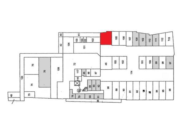 Immagine n1 - Planimetria - Piano seminterrato - Asta 895