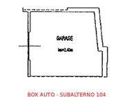 Immagine n0 - Box auto seminterrato (sub 104) - Asta 895