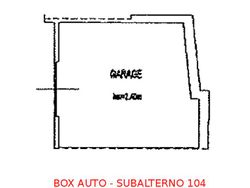 Box auto seminterrato (sub 104) - Lotto 895 (Asta 895)