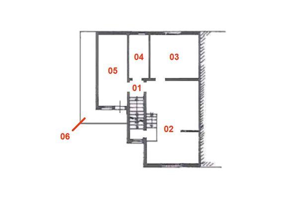 Immagine n1 - Planimetria - Piano primo - Asta 8950