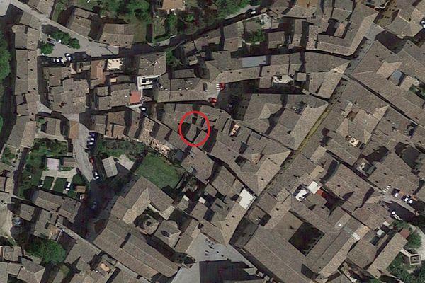 Immagine n1 - Planimetria - Vista aerea - Asta 8951