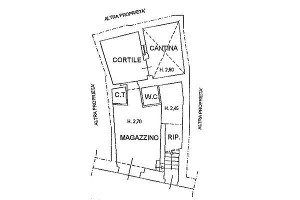 Immagine n0 - Planimetria - Piano terra - Asta 8951