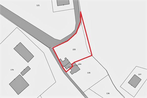 Immagine n1 - Planimetria - Estratto di mappa - Asta 8957